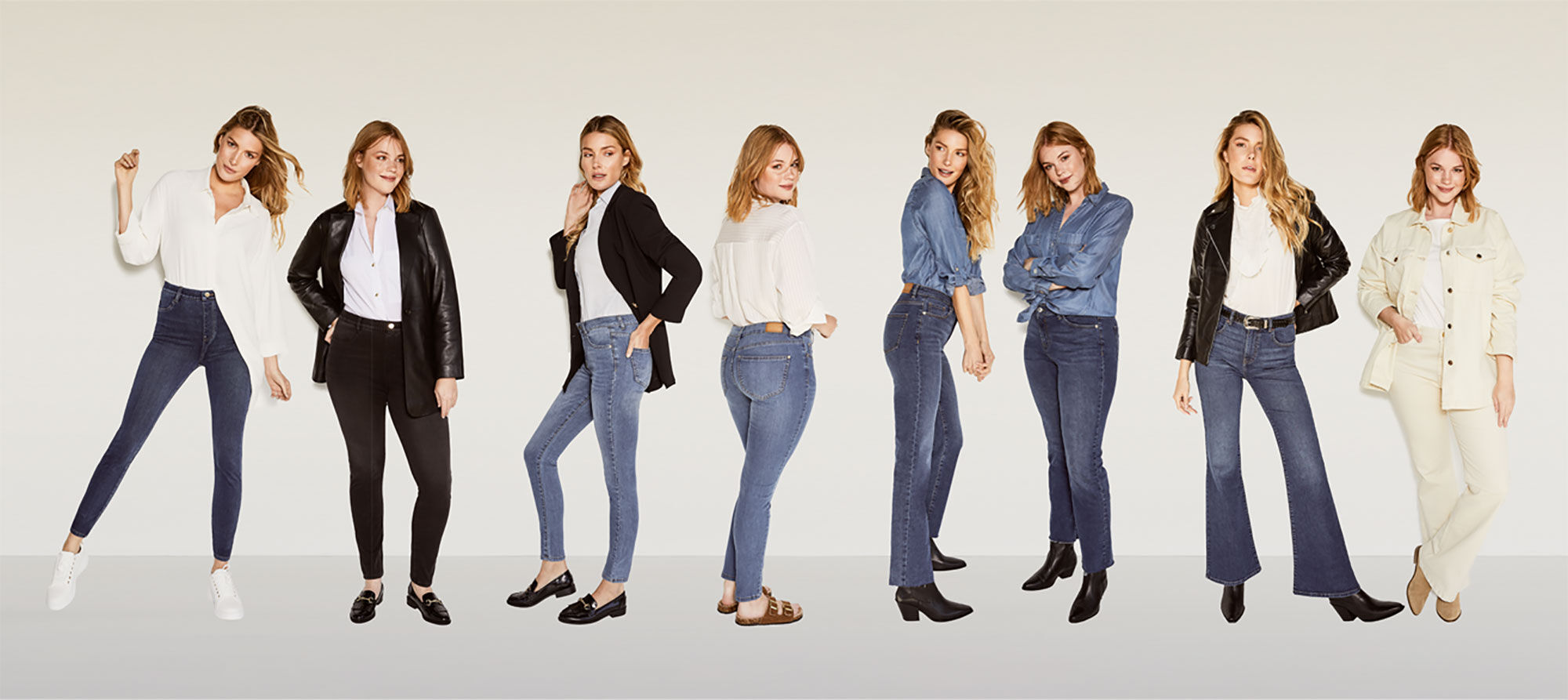 CHOOSE YOUR FIT: WE HAVE 11 DIFFERENT ONES TO CHOOSE FROM!