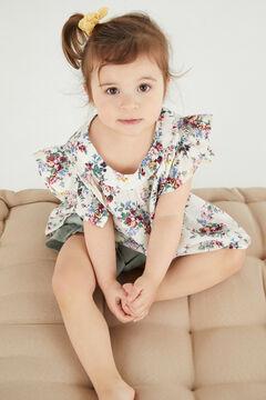 Cortefiel Children's shirt printed Natural