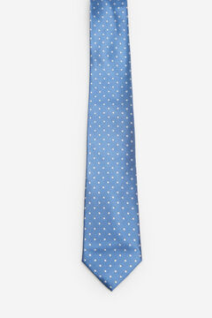 Cortefiel Polka-dot tie Royal blue