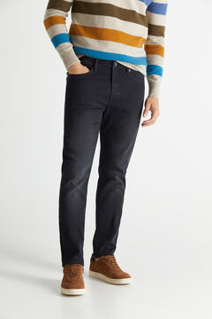 Cortefiel Jeans dynamic slim pretos Preto