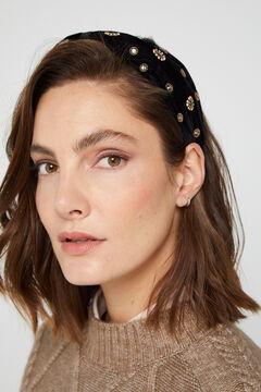 Cortefiel Rigid headband Black