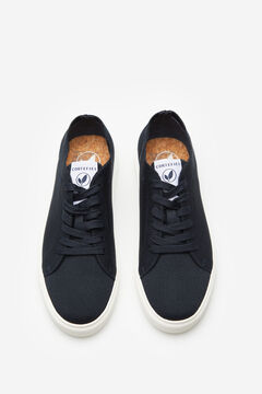 Cortefiel Recycled fabric sneaker Navy