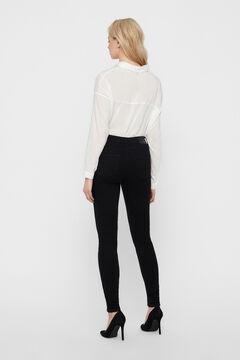 Cortefiel Mid rise jeans Black