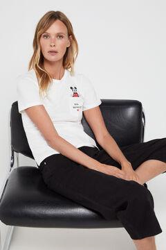 Cortefiel Disney weekdays t-shirt Black