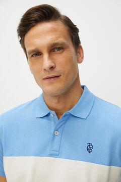 Cortefiel Short-sleeved polo shirt Stone