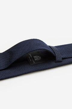 Cortefiel Corbata falso liso Azul