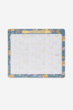 Cortefiel Magnetic weekly planner Natural