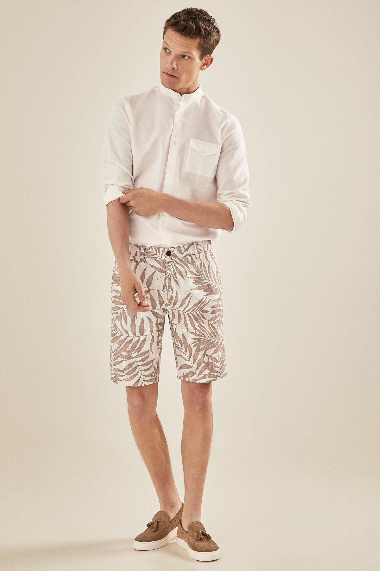 616724e8ea Printed Bermuda shorts