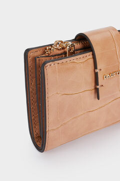 Cortefiel Engraved compact wallet Mole