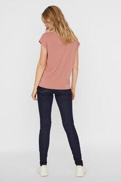 Cortefiel Camiseta fluida Rosa