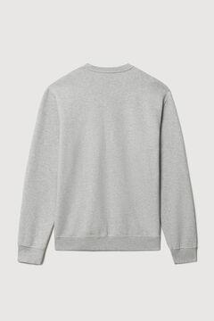 Cortefiel Napapijri B-BOX H round neck sweatshirt Gray