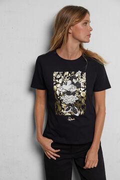 Cortefiel Organic cotton Minnie Mouse T-shirt Natural