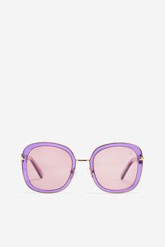 Cortefiel  Gafas de sol Glitter Valeria Mazza Purpura