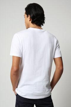 Cortefiel Camiseta SALLAR SS manga corta Napapijri Blanco