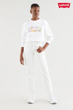 Cortefiel GRAPHIC STANDARD Levi's® CREW White