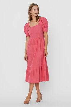 Cortefiel Midi dress  Pink