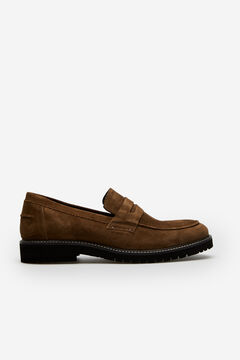 Cortefiel Flexible sole loafer Brown