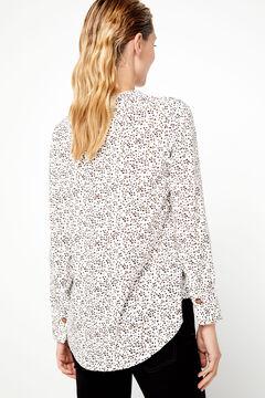 Cortefiel Eco-Vero fabric blouse Natural