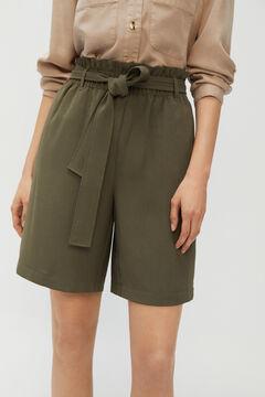 Cortefiel Shorts Dark gray