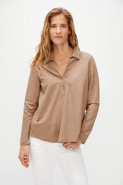Cortefiel Comfort blouse Vanilla