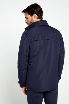 Cortefiel Lightweight Thermolite Eco jacket Navy