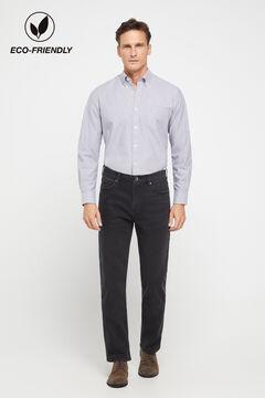 Cortefiel Classic black jeans Black