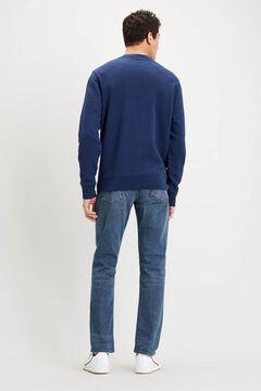 Cortefiel Sudadera Levi's® cuello redondo en tejido polar Azul