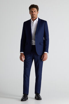 Cortefiel Blue slim fit blazer Bluejeans