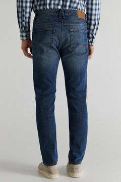 Cortefiel Jeans slim escura Azul