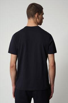 Cortefiel Camiseta SALLAR SS manga corta Napapijri Azul