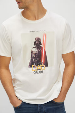 Cortefiel Star Wars short-sleeved t-shirt White