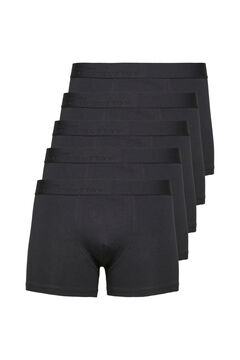 Cortefiel Pack of 5 boxers Black