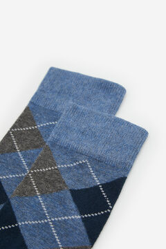 Cortefiel Diamond socks Bluejeans