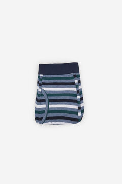 Cortefiel Striped jersey-knit boxers Blue jeans