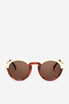 Cortefiel CREAM/LEO TORTOISE DALSTON  sunglasses Tobaco