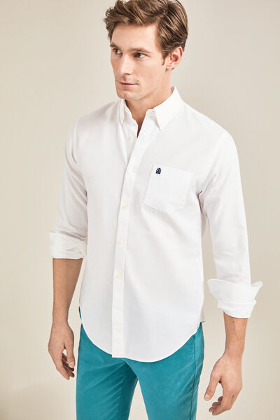 Cortefiel - Tailored-fit Oxford shirt - 3