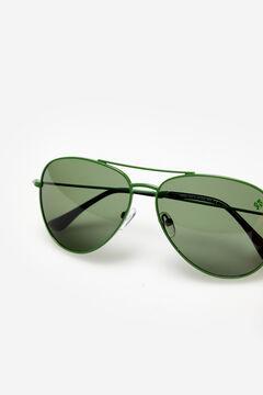 Cortefiel Gafas de sol Pilot colors Alejandro Sanz Dark green