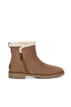 Cortefiel Romely zip boot Vanilla