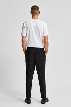 Cortefiel Drawstring chinos Black