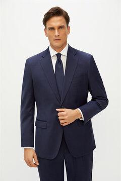 Cortefiel Classic fit suit blazer Navy