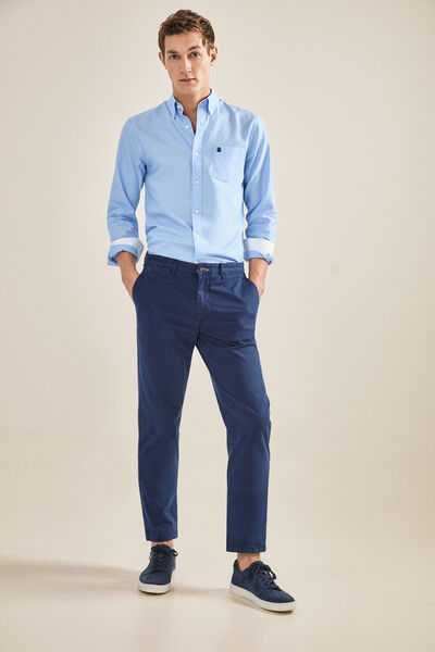 Cortefiel - Slim fit chinos - 1