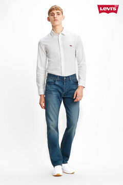 Cortefiel Classic slim fit Levi's® shirt White