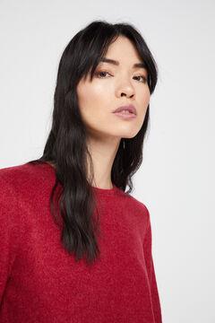 Cortefiel Soft feel crew neck t-shirt Lilac