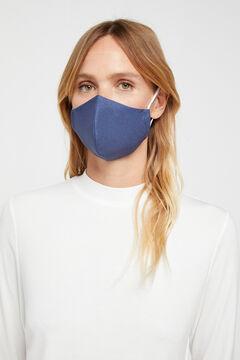 Cortefiel Máscara reutilizável chambray Azul