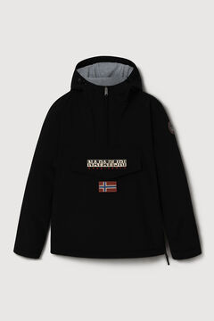 Cortefiel Napapijri RAINFOREST WINTER kangaroo jacket Black