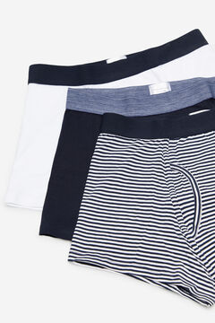 Cortefiel 3-pack jersey-knit boxers White