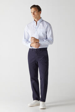Cortefiel Essential classic fit chinos Navy