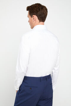 Cortefiel Camisa vestir tailored fit Blanco