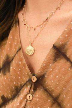 Cortefiel Brava necklace Beige