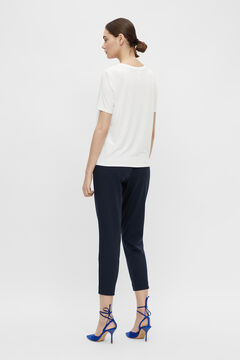 Cortefiel Chino trousers Royal blue